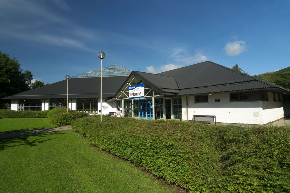 Keswick Leisure Pool at the top of Station Road, overlooks Fitz Park ...